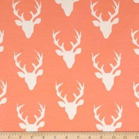 Peach Deer (Romper)