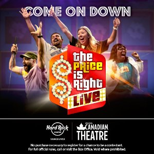 Price is Right Live - Apr. 21