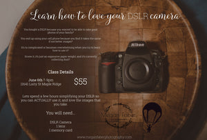 Photography Workshop - June 6
