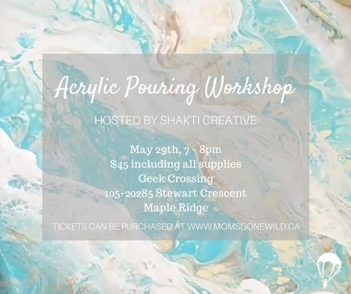 Acrylic Pouring Workshop - May 29
