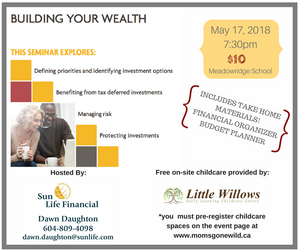 Finance Workshop - May 17