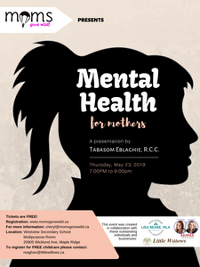 Mental Health for Mothers - May 23