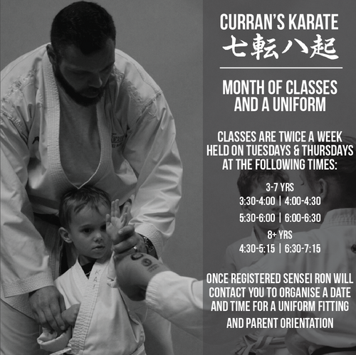 Curran's Karate Promo (for kids!)