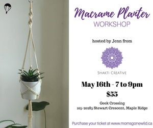 Macrame Planter - May 16
