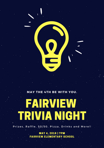 Trivia Night - May 4