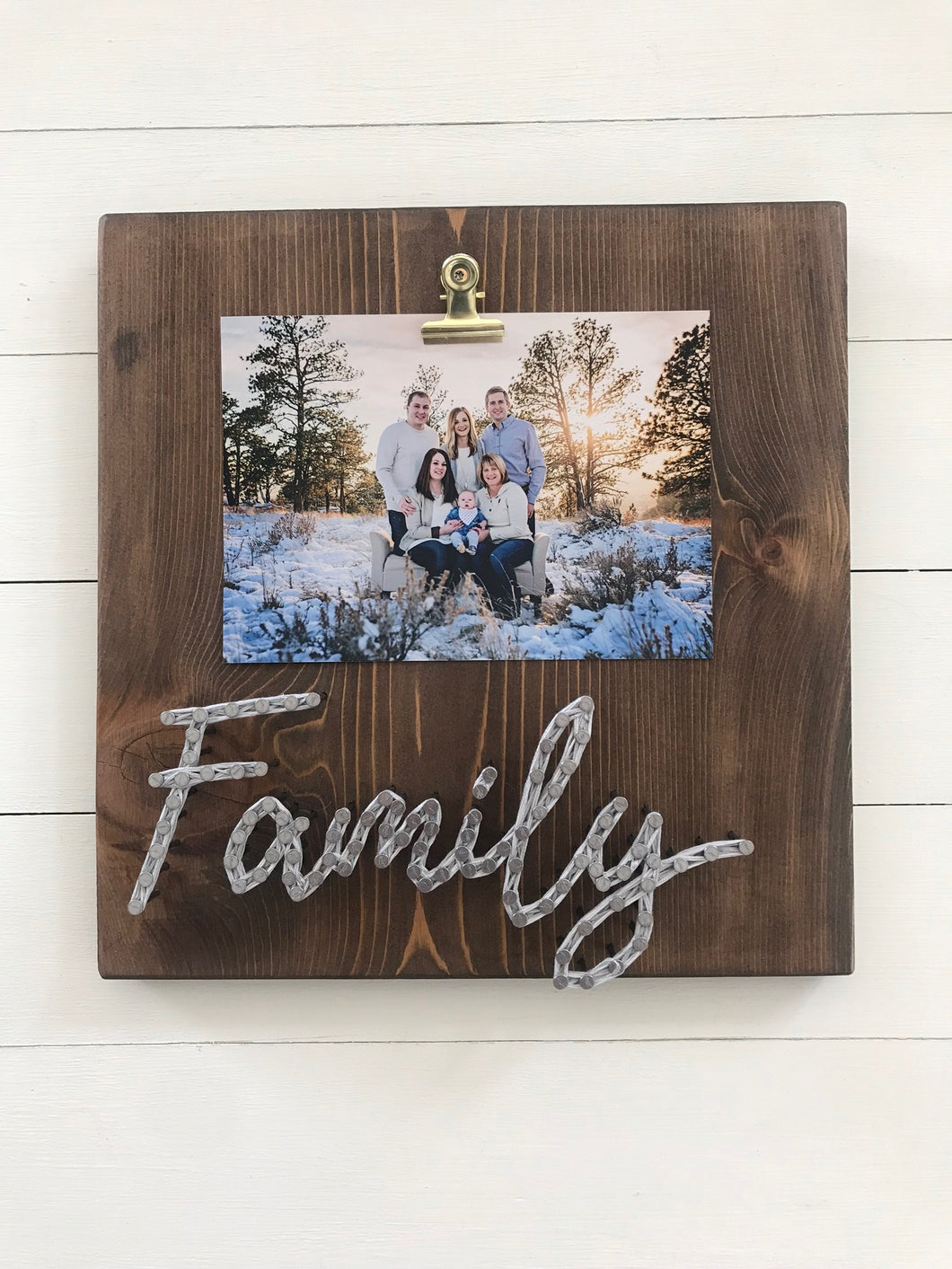 Family Picture Board
