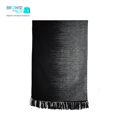 Evening Shawl - Black and White