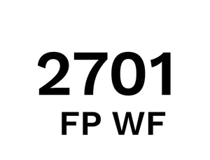 2701 FP WF - Food Plant Cleaner