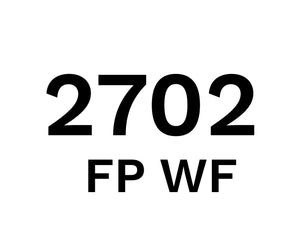 2702 FP WF - Food Plant Cleaner with Foam