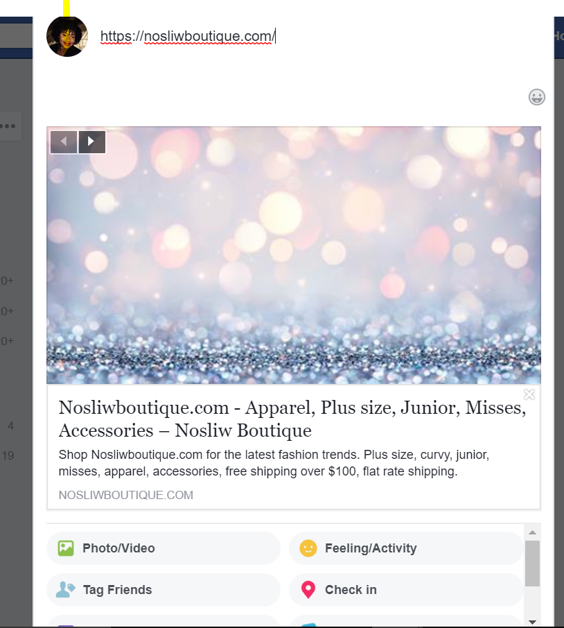 Facebook Link Preview Image - Shopify Community