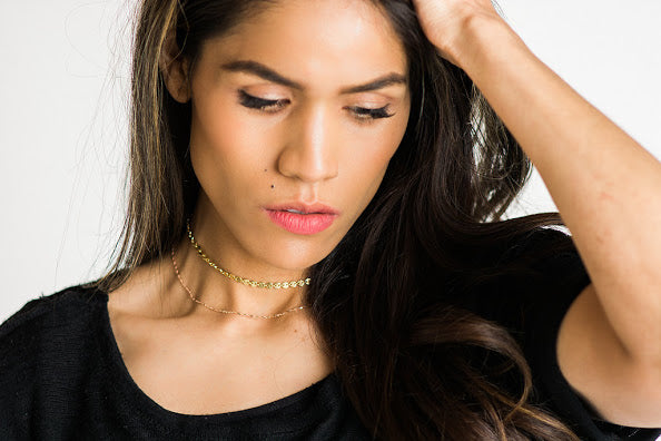 The Ore Collection: Sequin Choker Necklace