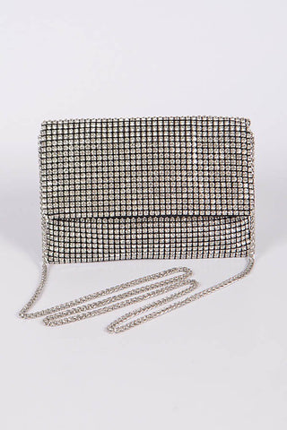Micro Studded Clutch Bag