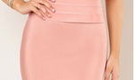 Blush Bandage Skirt