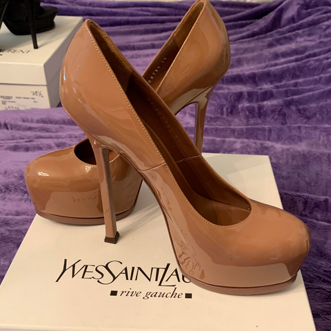 YSL Patent Leather Heels