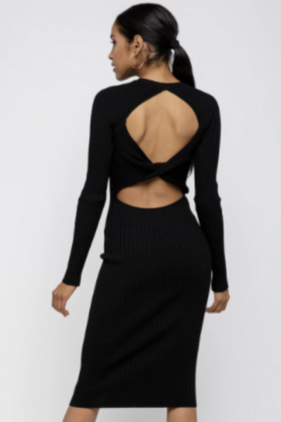 Crisscross Back Dress