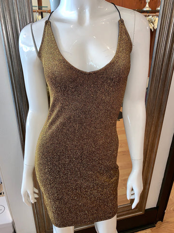 Gold/Bronze Glitter Dress