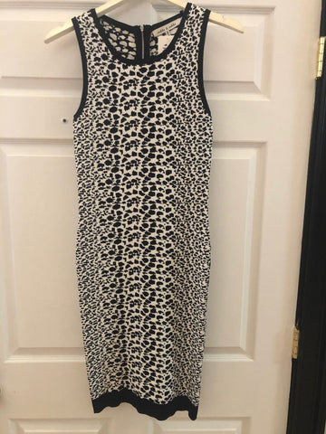 Robbi & Nikki B&W Stretch Knit Dress