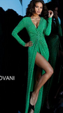 Green Jovani Gown