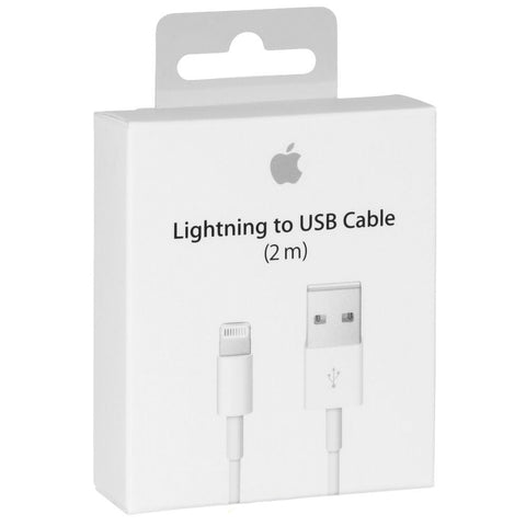 Cable Lightning a USB para iPhone 5,6 y 7 de 2 metros