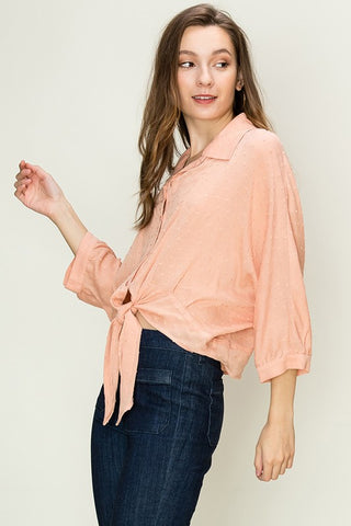 """Just Peachy"" Top"