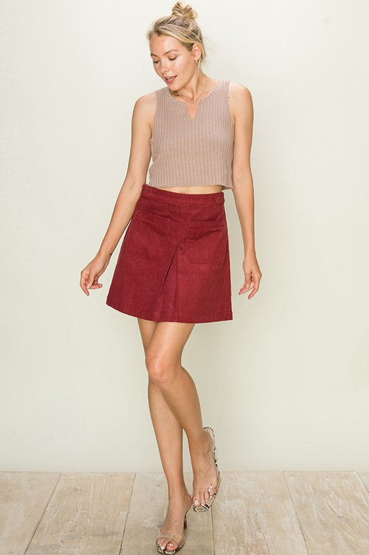 """Take Me Home Tonight!"" Skirt"