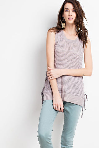 """By My Side"" Top"
