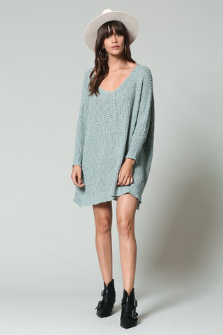 """Sweet In Sage"" Sweater"