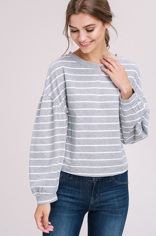 """Stripe Up Your Life"" Top"
