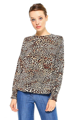 """Leopard Loving"" Top"