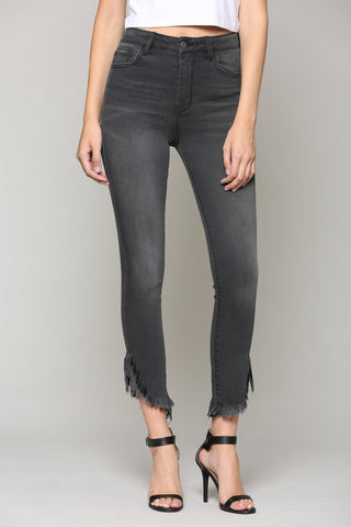 Taylor High Rise Black Skinny Jeans