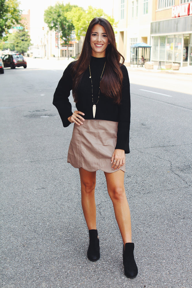 """Out On The Town"" Mini Skirt"