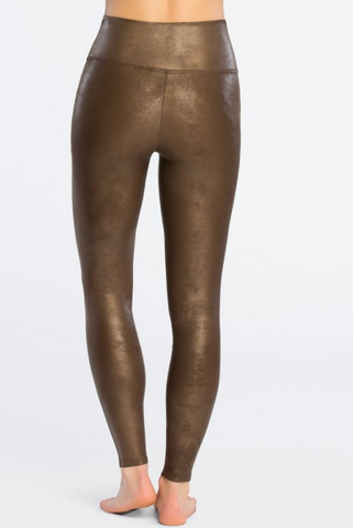 Faux Leather Bronze Spanx