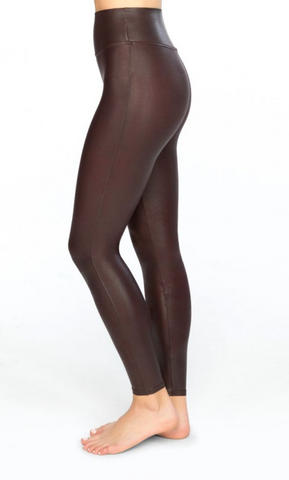 Faux Leather Wine Spanx