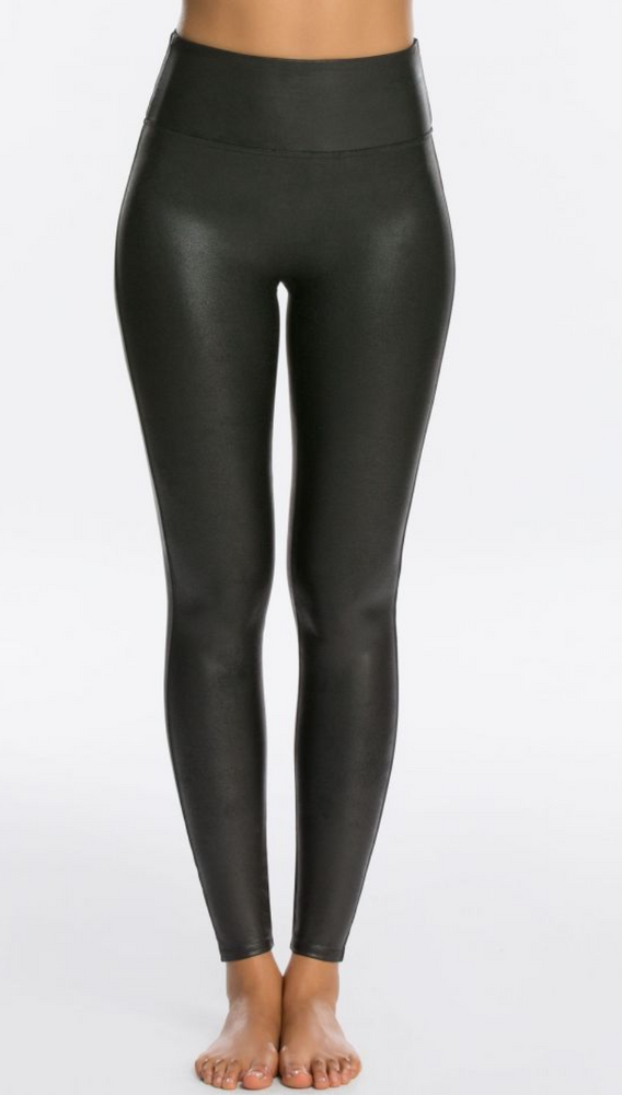 Faux Leather Black Spanx