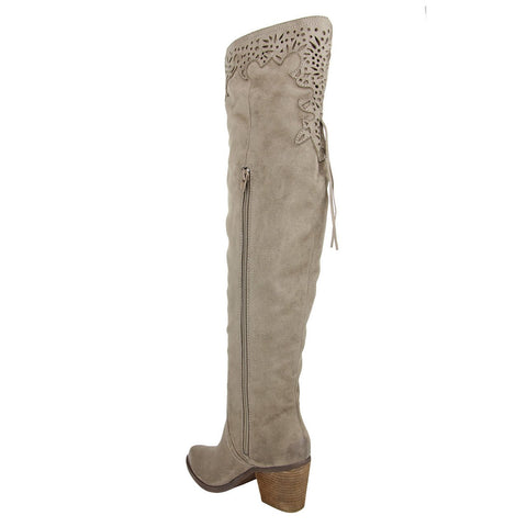 """Maddie-Taupe"" Boot"