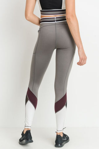 Highwaist Colorblock Pocket Leggings