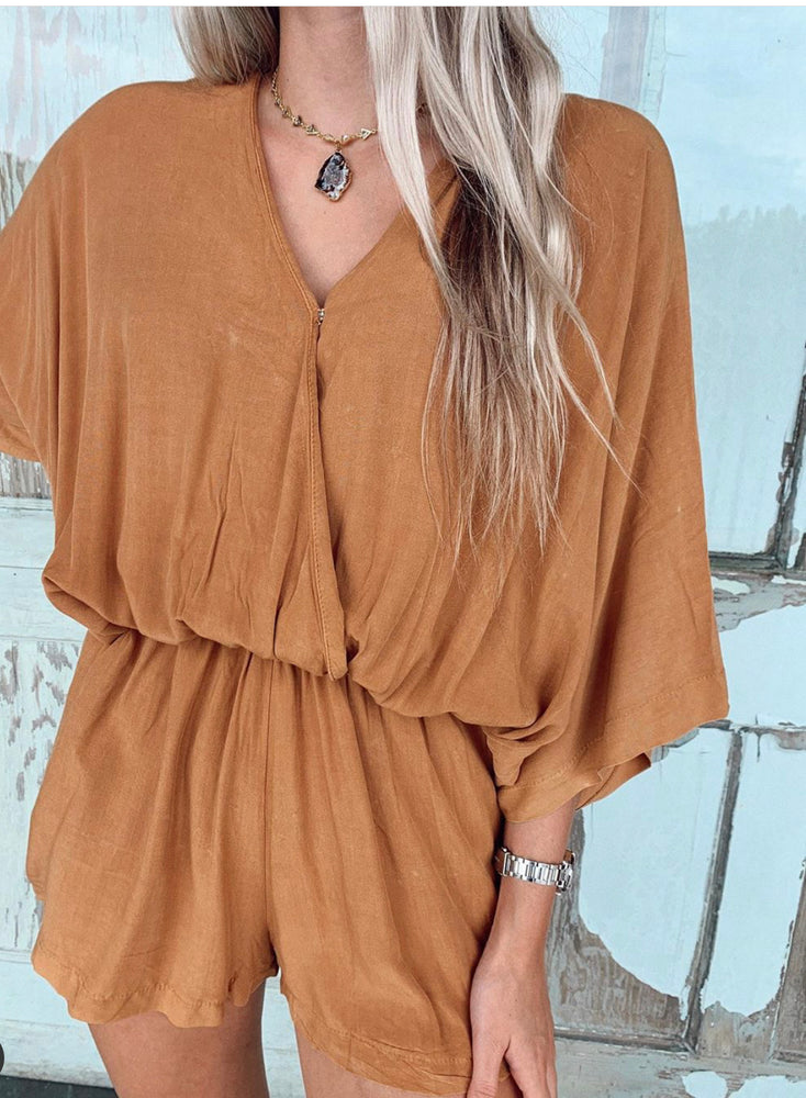"""Intentions"" Romper"