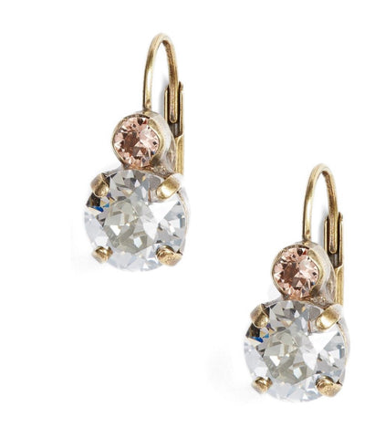 Round Crystal Drop Earrings by Sorrelli