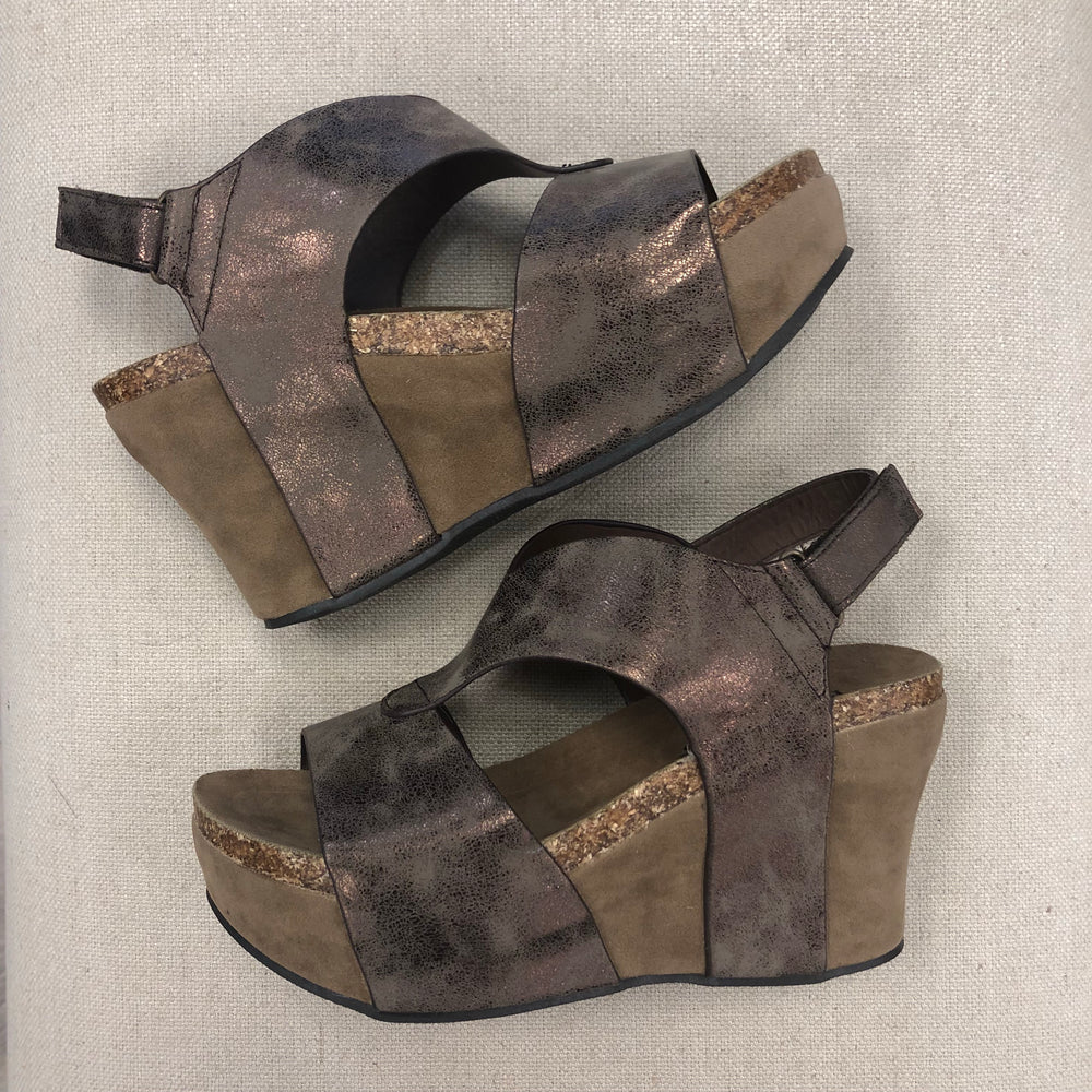 Hester Bronze Wedge