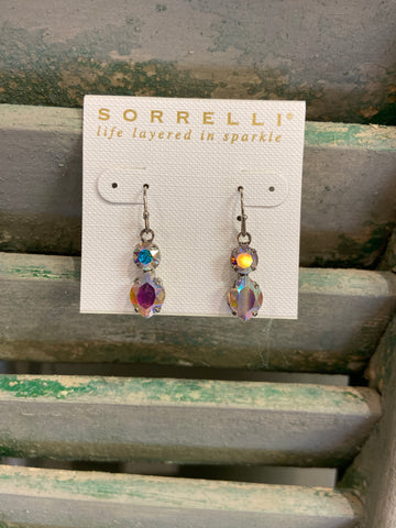 SORRELLI MAJESTIC MARQUIS CRYSTAL EARRINGS