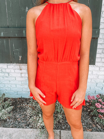 Just Another Day In Paradise Romper
