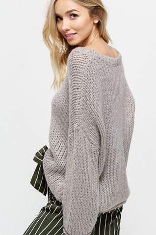 """Just for Now"" Sweater"