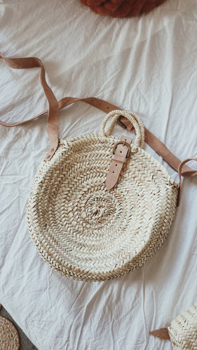 The Oslo Straw Bag  - SALE!