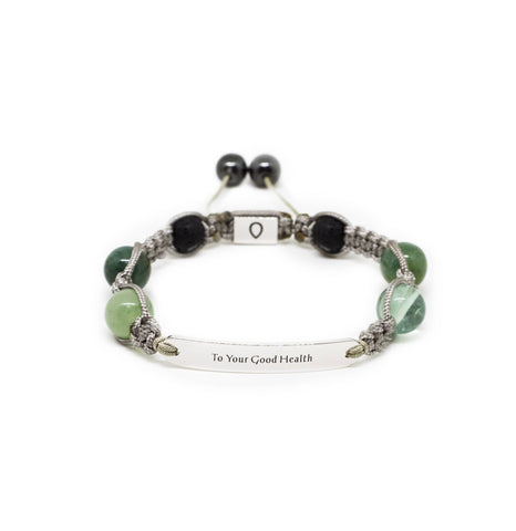 Good Health - Wish Bracelet - Allay Crystal Healing Energy Bracelets and Aromatherapy- allaybracelet.com