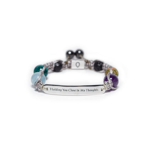 Grief and Comfort - Wish Bracelet - Allay Crystal Healing Energy Bracelets and Aromatherapy- allaybracelet.com