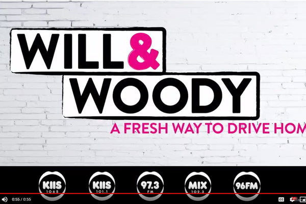 KIIS radio Melbourne - Will & Woody Selling at Secrets Shhh