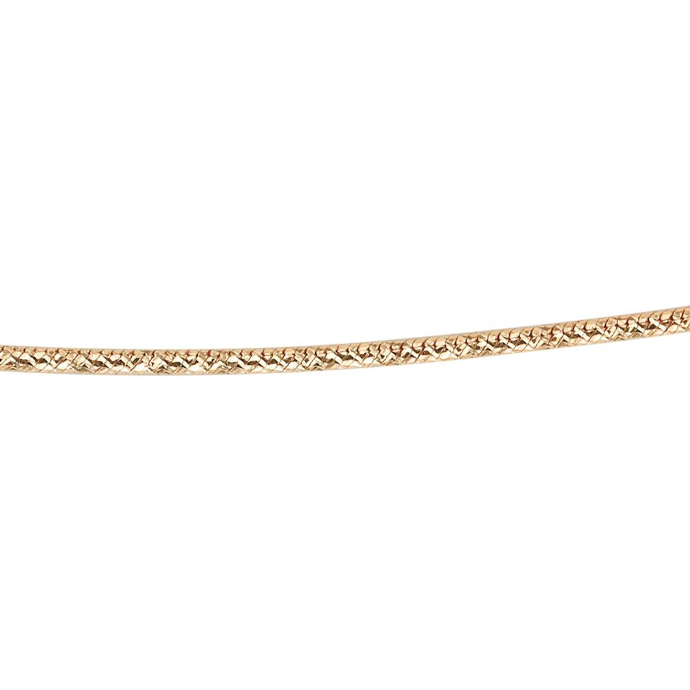 10ct Gold Sparkly Snake Chain in Yellow Gold