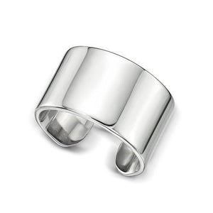 Cuff Midi Ring in Sterling Silver