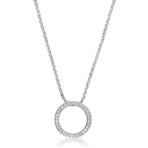 Circle of Love Pendant Medium in Sterling Silver