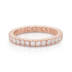 All-Rounder Round Brilliant Ring in Rose Gold